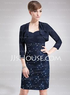 Wraps - $29.99 - 3/4-Length Sleeve Chiffon Special Occasion Wrap (013012263) http://jjshouse.com/3-4-Length-Sleeve-Chiffon-Special-Occasion-Wrap-013012263-g12263