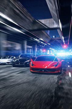 Ferrari 360, Mersariti GranTurismo, Ferrari 458