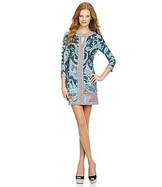 BCBGMAXAZRIA Avila PaisleyPrint Dress #Dillards