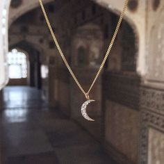 Feeling inspired on her travels the lovely @lindenlark took this photo of her Luna diamond necklace #india #lunajewelry #inspiration #travel