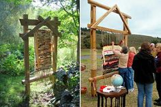People use these Earth Looms at Weddings and events as a community project to share in! I love it!