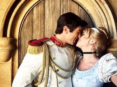 Cinderella and Prince Charming, so cute!