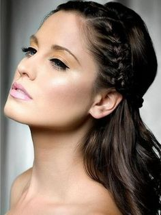 Straight Wedding Hairstyles For Long Hair