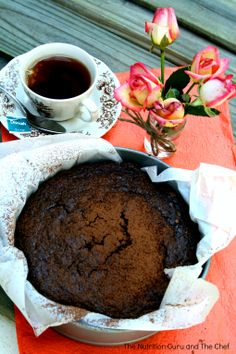 Chocolate Chia Seed Cake Healthy Nutrition Gluten Free Dairy Free Clean eating