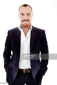 Toby Stephens poses for a portrait during the Winter TCA panel for 'Black Sails' for the Starz network at the Langham Huntington Hotel & Spa on January 9, 2015 in Pasadena, California.