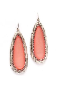Blush Lucite Gabby Earrings | Awesome Selection of Chic Fashion Jewelry | Emma Stine Limited