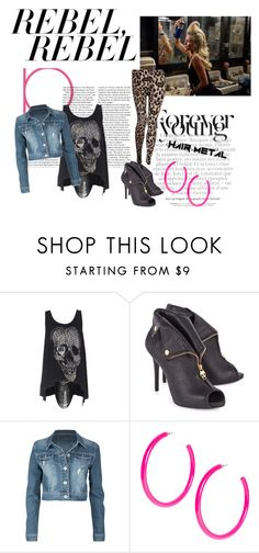 """4"" by kia-lyla ❤ liked on Polyvore featuring JULIANNE, Alexander McQueen, Amethyst Jeans, ASOS and Miso"