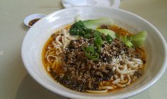 Sichuan Dandan Noodles 四川担担面 AUD9.50 - Dumplings Plus 中华名小食, Chadstone | Flickr - Photo Sharing!