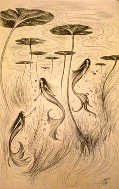 Three mermaids                                                                                                                                                                                 More