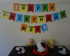 Snoopy Birthday Banner Snoopy Birthday, Snoopy Party, 15th Birthday, Birthday Party Themes, Banner Ideas, First Birthdays, Showers, Kids Rugs, Party Ideas