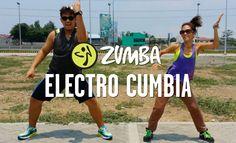 Electro Cumbia (Mega Mix 40)   Zumba® Fitness with Joshua and Amie    Li...