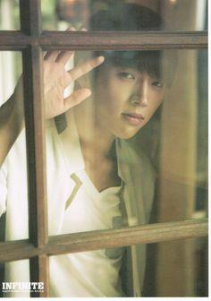 Infinite (인피니트) is a seven member boy group under Woollim Label. Kim Myungsoo, Nam Woo Hyun, Woollim Entertainment, Korean Singer, Photo Book, Infinite, Boy Groups, Handsome, Kpop