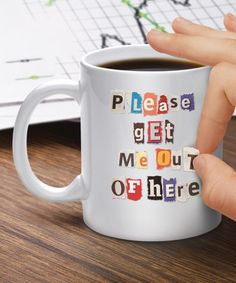 Look at this #zulilyfind! Mixed Messages Mug #zulilyfinds