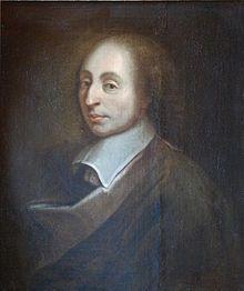 19 juin 1623 - Naissance de Blaise Pascal, mathématicien et physicien; philosophe, moraliste et théologien français, à qui l'on doit, notamment, l'invention de la machine à calculer. (Source: Wikinews - Wikipedia)