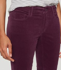 Thumbnail Image of Color Swatch 8551 Image of Skinny Corduroy Pants in Julie Fit