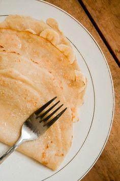Super simple vegan crepes - recipe with just 3 ingredients - no vegan margarine (yay!)