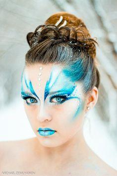 Fish face paint