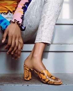 From barely-there strappy sandals to animal prints and toe ring sandals, these are the summer shoe trends to know and shop now. Sandals Outfit Summer, Spring Sandals, Toe Ring Sandals, Strappy Sandals, Leather Heels, Must Haves, Fashion Shoes, That Look, High Heels