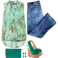 """""""Bow Sandals"""" by musicfriend1 on Polyvore"""