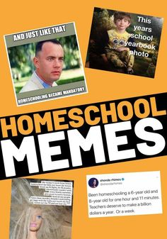 Here we are mandatory homeschooling teachers. Laugh and make the best of it with these funny homeschool memes for 2020 school year.