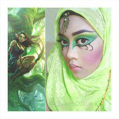 Wood Elf makeup.  Source: Google  #woodelf #elf #elves #fantasymakeup #makeupinspo #tauriel #forestnymph #fairies #makeupart #makeupforever