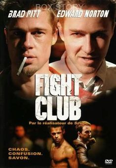 *-WATCH>> FIGHT CLUB (1999) Full Movies=for=FREE!!fight club,fight club full movie,fight club movie,fight club brad pittA ticking-time-bomb insomniac and a slippery soap salesman channel primal male aggression into a shocking new form of therapy. Their concept catches on, with underground fight clubs forming in every town, until an eccentric gets in the way and ignites an out-of-control spiral toward oblivion.#fightclub #fightclubmovie #fightclubquotes #fightclub2 Streaming Movies, Hd Movies, Movies Online, Movie Tv, Movies Free, Action Movies, Brad Pitt, Tyler Durden, David Fincher