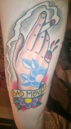 """""""A memorial tattoo for a dear departed friend by Demian Thompson at The Parlour Tattoo in Eugene, OR"""""""