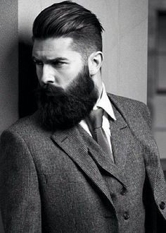 33 Elegant mens hairstyles with beards 2018 Mens Hairstyles With Beard, Haircuts For Men, Men's Haircuts, Latest Beard Styles, Beard Styles For Men, Men Haircut 2018, Barber Shop Haircuts, Natural Accessories, Great Beards