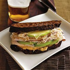 Smoked Turkey Reuben with Green Apple - For this spin on the classic Reuben, we made use a homemade mayonnaise-based spread, along with turkey, apple, and Gruyere cheese.