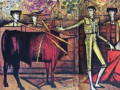 corrida Spanish Art, Popular Culture, Light In The Dark, Painting & Drawing, Art History, Abstract Art, French, Buffets, Painters