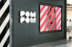 The stylish POM POM store design.