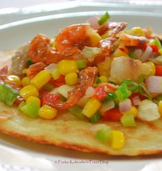 Funke Koleosho's Food Blog: Bean Pancake with Smoked Prawns & Mixed Veggies  Are you looking to make flour-less pancakes, cut down on calories, something delicious, different and tasty and even more importantly, a healthy alternative to regular pancakes...then try out the Bean Pancakes.