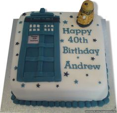 Dr Who TARDIS cake cakes Ive made Pinterest Tardis cake