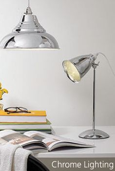 Browse our beautiful lighting ranges with matching table lamp, floors lamp and fittings. Also shop our bulbs and lighting accessories. Desk Lamp, Table Lamp, Floor Lamp, Chrome, Bulb, Collections, Flooring, Lighting, Home Decor