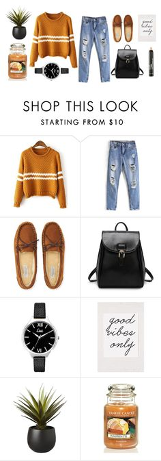 """Nameit  #68"" by ericakslzr on Polyvore featuring Aéropostale, Topshop, CB2, Yankee Candle and NYX"