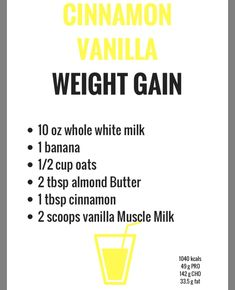 Weight gain exercise weightlifting new ideas Weight Gain Plan, Ways To Gain Weight, Weight Gain Journey, Gain Weight Fast, Weight Gain Meals, Healthy Weight Gain, Weight Gain Shake, Weight Gain Drinks, Muscle Milk
