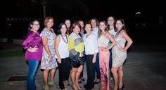 Turma de Assessoras de Vitória, ES, durante realização do curso de Organização de Casamentos por Sylvia Queiroz, a convite da GC Eventos.