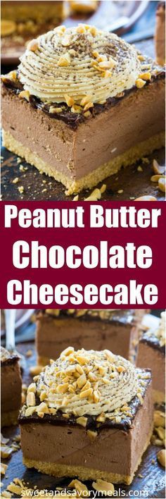 No Bake Chocolate Pe