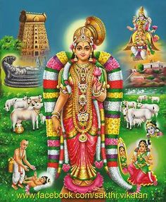 Sri Andal-Srivilliputtur-Tamilnadu-India