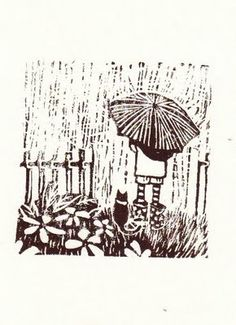 Lino cut from Ellie. See more at beautifulboat.blogspot.com.