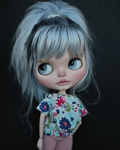 Icy Bobble Head Big Eyes Cute Doll Joint Body Doll Include The Hand Set AB 12 I