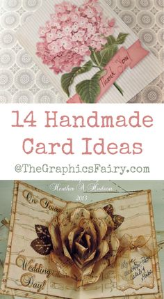 14 Handmade Card Ideas!