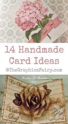 14 Handmade Card Ideas!