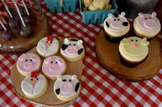 Rustic Barnyard 1st Birthday Party via Kara's Party Ideas! The Place for All Things Party! KarasPartyIdeas.com #barnyardparty (4)