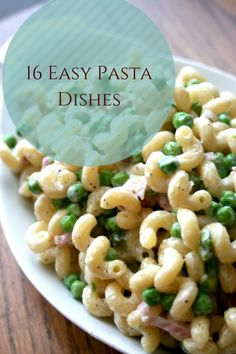 Food Guide: 16 Delicious Pasta Dishes