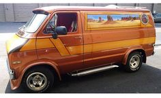 Pro baseball coach Joe Madden's daily driver - a 70's Dodge van.