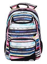 NEW ROXY BACKPACK BOOK SCHOOL STUDENT BAG Shadow Swell White Multicolor  Stripe Roxy Backpacks dde4196a64427