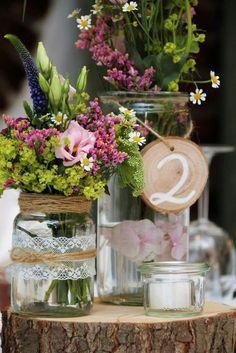 1001 ideen f r weckgl ser dekorieren zum nachmachen mv diy wedding decorations und decor. Black Bedroom Furniture Sets. Home Design Ideas