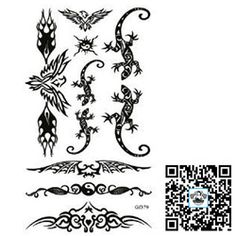 art furniture on sale at reasonable prices, buy Temporary Armband Tattoo/Lizard,Bat,yinyang,Totem/waterproof transfer Unisex tatoo body art/CE from mobile site on Aliexpress Now! Armband Tattoo, Yin Yang, Lizard Tattoo, Unisex, Art Furniture, Temporary Tattoo, Tatoos, Body Art, Animals