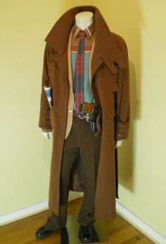 fan-created SUPER detailed Rick Deckard Costume from Blade Runner